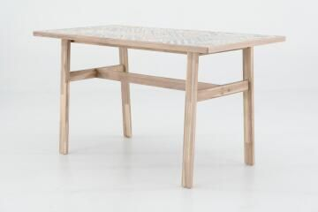 DINING TABLE SOHO HERITAGE 137X70X76 CM ACACIA-CERAMIC