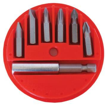 Set of 7 Screwdriver Bits