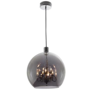 PENDANT SMOKE 9L INNER CHROME CHAND