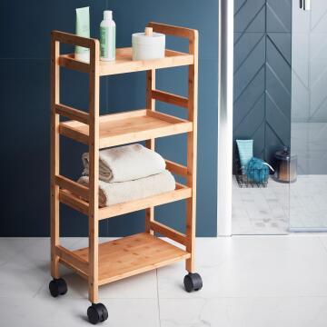 Trollley - 3 shelf wood aneko SENSEA