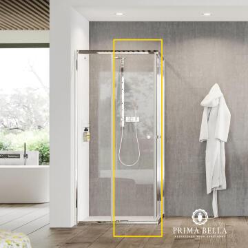 Shower - clear door panel (new generation)
