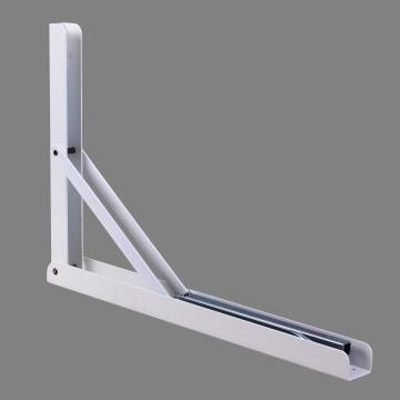 Folding Bracket White 400X270X36mm