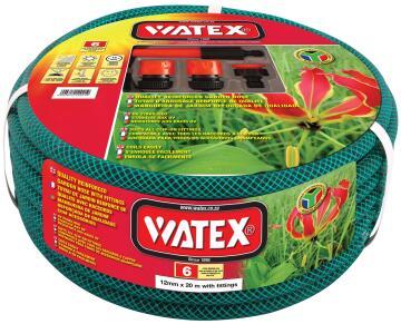 Hose, Garden Hose With Fittings, WATEX, 20mmx20m, 6 Years Gurantee
