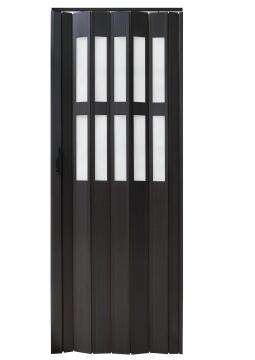 Folding Door PVC Wenge-w820xh2030mm