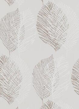 WALLPAPER N/WOVEN LEAF GREY 10,5X0,53M