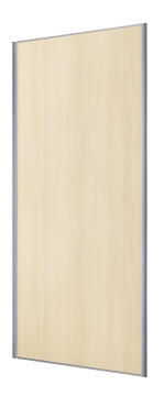 Wardrobe sliding door allure cream accacia H250cm x W92cm