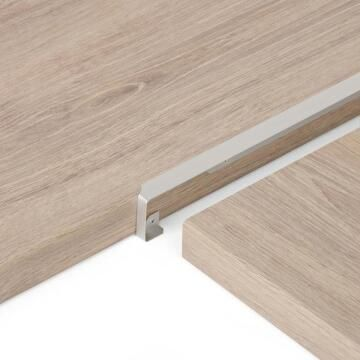 Kitchen Worktop Aluminium Junction 38Mm