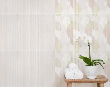 Wall Tile Ceramic Contessa Beige Wool 600x300mm (2.52m2/box)