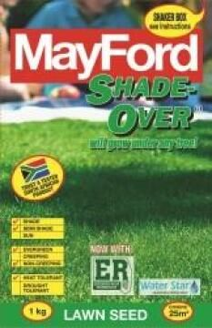 Lawn Seed, Shade Over, MAYFORD, 1kg