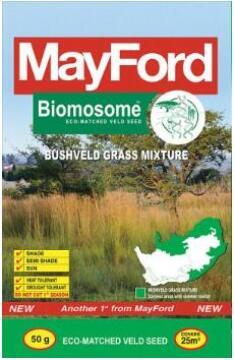 Lawn Seed, Biomosome Grassveld Mix, MAYFORD, 50g