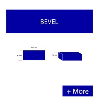Paver Bevel Premium - Black
