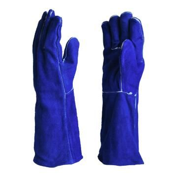 GLOVE MATSAFE WELDING BLUE 6`` CUFF PP