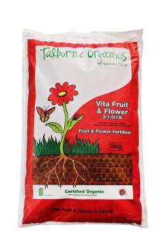 Fertiliser vita-fruit & flower 3:1:5 TALBORNE 5kg