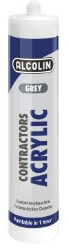 Acrylic sealant ALCOLIN Contractors Grey 260ml