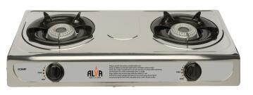 Gas Stove ALVA 2 Burner SS