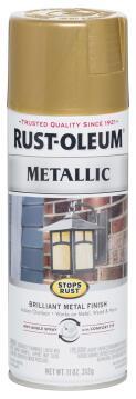 Spray paint RUST-OLEUM Metallic Gold Rush 312g