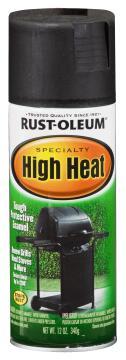 Spray paint RUST-OLEUM Specialty HIgh Heat Black 340g
