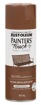 PAINTERS TOUCH+ GLOSS SADDLE BROWN 340G