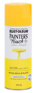 PAINTERS TOUCH+ GLOSS CANARY YELLOW 340G
