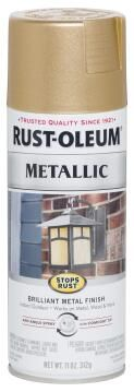 Spray paint RUST-OLEUM Metallic Warm Gold 312g