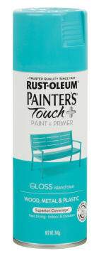 PAINTERS TOUCH+ GLOSS ISLAND BLUE 340G
