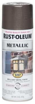 Spray paint RUST-OLEUM Metallic Dark Bronze 312g