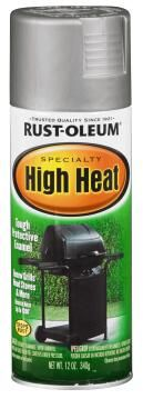 Spray paint RUST-OLEUM Specialty High Heat Silver 340g