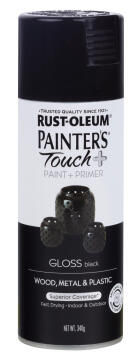 PAINTERS TOUCH+ GLOSS BLACK 340G