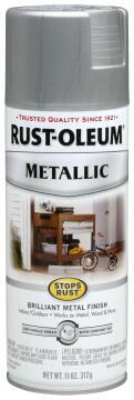 Spray paint RUST-OLEUM Metallic Enamel Silver 312g