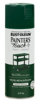 PAINTERS TOUCH+ GLOSS PINE GREEN 340G