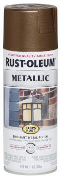 Spray paint RUST-OLEUM Metallic Dark Copper 312g