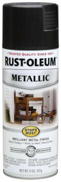 Spray paint RUST-OLEUM Metallic Black Night 312g