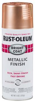 Spray paint RUST-OLEUM Bright Coat Metallic Copper 312g