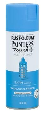PAINTERS TOUCH + SATIN SEA BLUE 340G