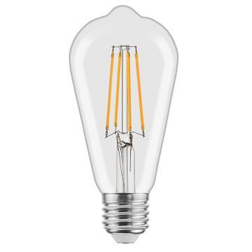 LED FILAM ST64 E27 4.5W 470LM4000K CLR
