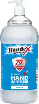 Hand sanitizer HANDEX 70% alcohol 2L