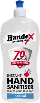 Hand sanitizer HANDEX 70% alcohol 1L