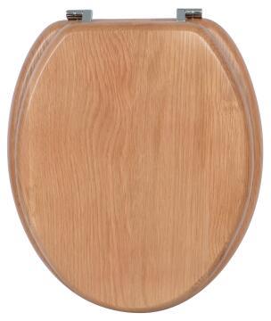 Toilet seat oak Sensea Karmel Natural