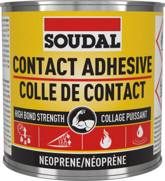 CONTACT ADHESIVE CLEAR 250ML SOUDAL