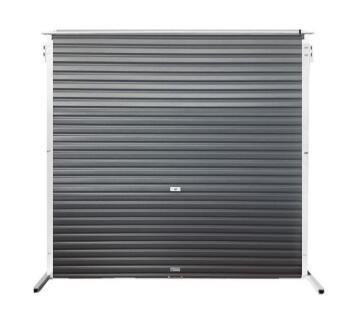 Garage Door Roll Up Aluzinc Charcoal-w2450xh2100mm