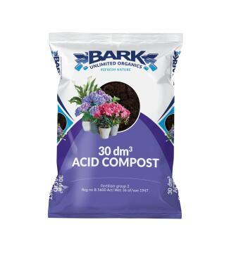 Acid Soil, Growing Medium, BARK UNLIMITED, 30dm