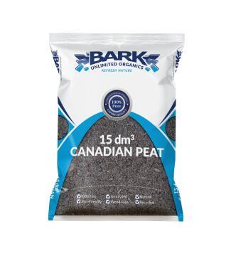 Canadian Peat, Growing Medium, BARK UNLIMITED, 15dm