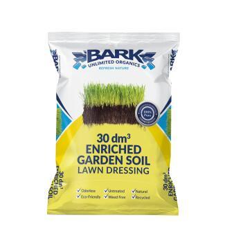 Lawn Dressing, Soil Medium, BARK UNLIMITED, 30dm