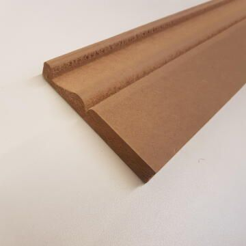 Skirting MDF Style 1-18x120x2700mm