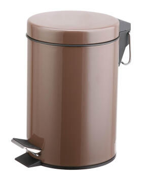 Dustbin Happy brown 3L