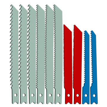 Set of 10 Jigsaw blades U-shaft