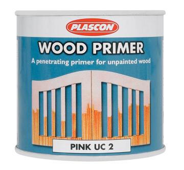PLASCON PINK WOOD PRIMER 1L