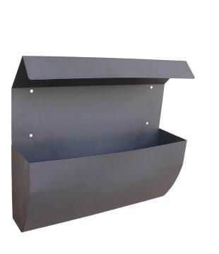 Mailbox s/steel black