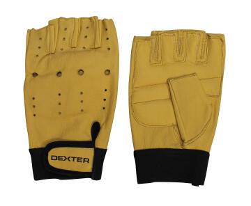Glove DEXTER Fingerless Grain Leather