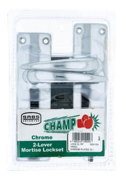 HANDLES CHROME PLATED 2 LEVER CHAMP